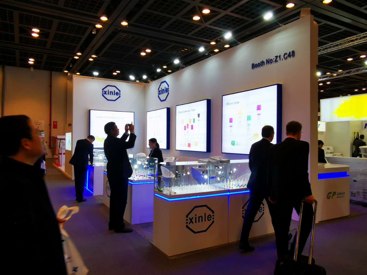 Xinle Attended Arab Health 2020 and Medlab Middle East 2020