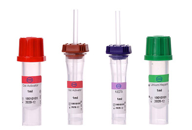 Which areas are Vacuum Blood Collection Tubes used?